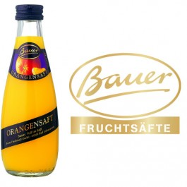 Bauer Orange 24x0,2l Kasten Glas