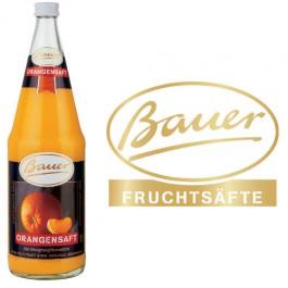 Bauer Orange 6x1,0l Kasten Glas