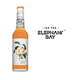 Elephant Bay Ice Tea Peach 20x0,33l Kasten Glas