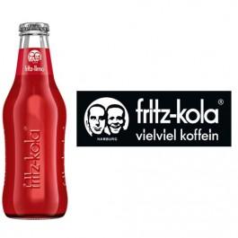 Fritz-Limo Apfel-Kirsch-Holunder-Limonade 24x0,2l Kasten Glas