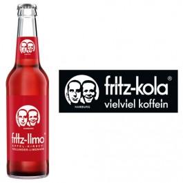 Fritz-Limo Apfel-Kirsch-Holunder 24x0,33l Kasten Glas