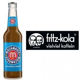 Fritz Mischmasch Kola-Orangen-Limonade 24x0,33l Kasten Glas