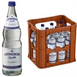 Grüneberg Quelle Classic 12x0,70l Kasten Glas