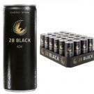 28 BLACK AÇAÍ Energy Drink 24x0,25l Dosen