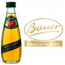 Bauer Apfel klar 24x0,2l Kasten Glas