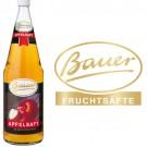 Bauer Apfel klar 6x1,0l Kasten Glas