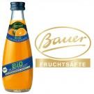 Bauer Bio Orangensaft 24x0,2l Kasten Glas