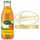 Bauer Bio-Apfel-Sanddornsaft 6x0,98l Kasten Glas