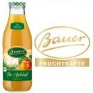 Bauer Bio Apfel trüb 6x0,98l Kasten Glas