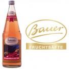Bauer Rhabarber 6x1,0l Kasten Glas