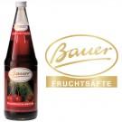 Bauer Sauerkirsch 50% 6x1,0l Kasten Glas