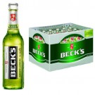 Beck's Green Lemon 24x0,33l Kasten Glas