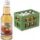 Dietz Apfelsaft 12x0,2l Kasten Glas