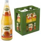 Dietz Orangensaft 6x1,0l Kasten Glas