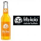 Fritz-Limo Orangenlimonade 24x0,33l Kasten Glas