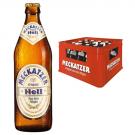 Meckatzer Hell 20x0,5l Kasten Glas